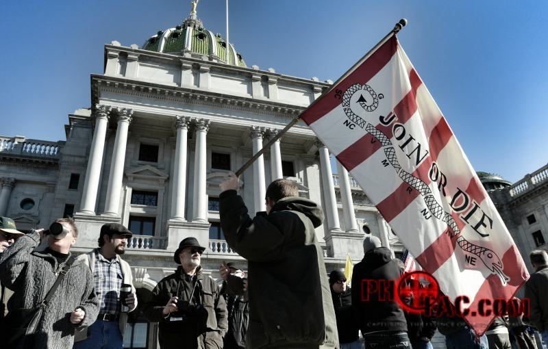 Guns Across America Rally, Harrisburg PA, January 19, 2013